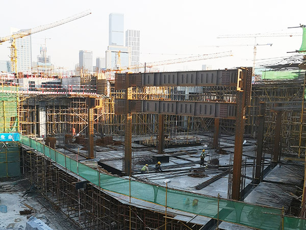 濟南城投中央商務區CBD地下廣場