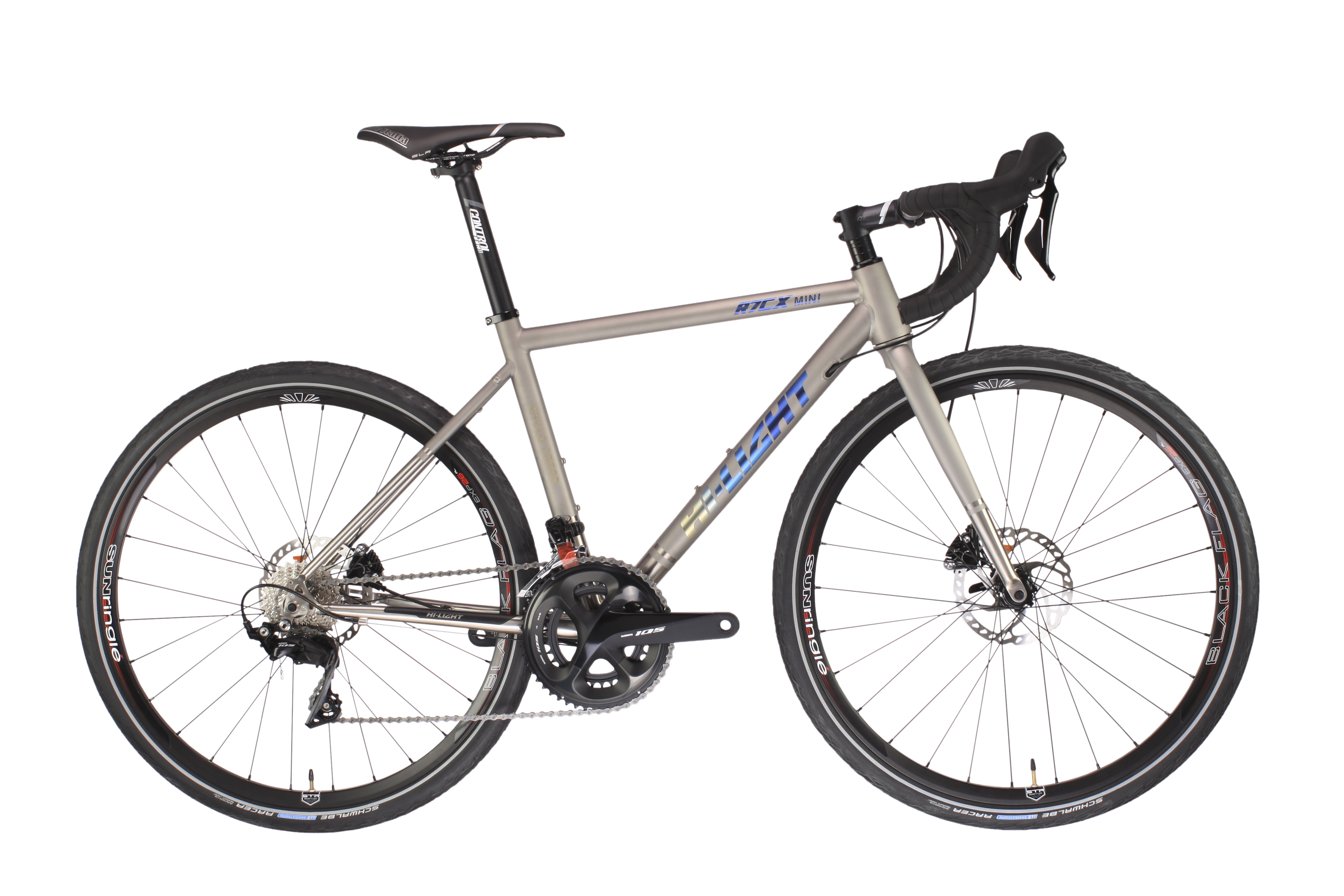 R7CXmini TITANIUM CROSS BIKE DISC