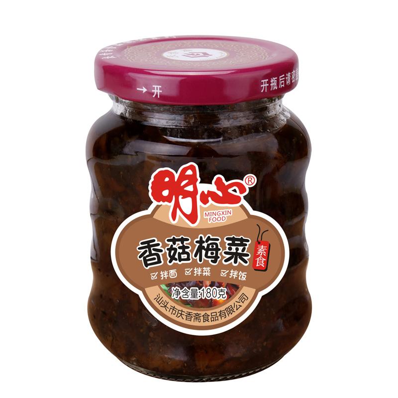 180g香菇梅菜