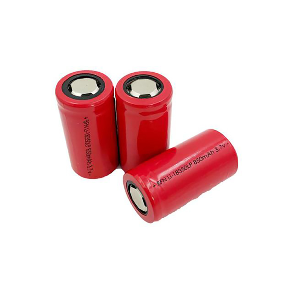 18350LP-850mAh Low Temperature and Power Battery