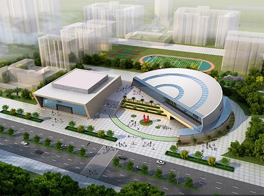 工程監理-華鎣市城市綜藝館