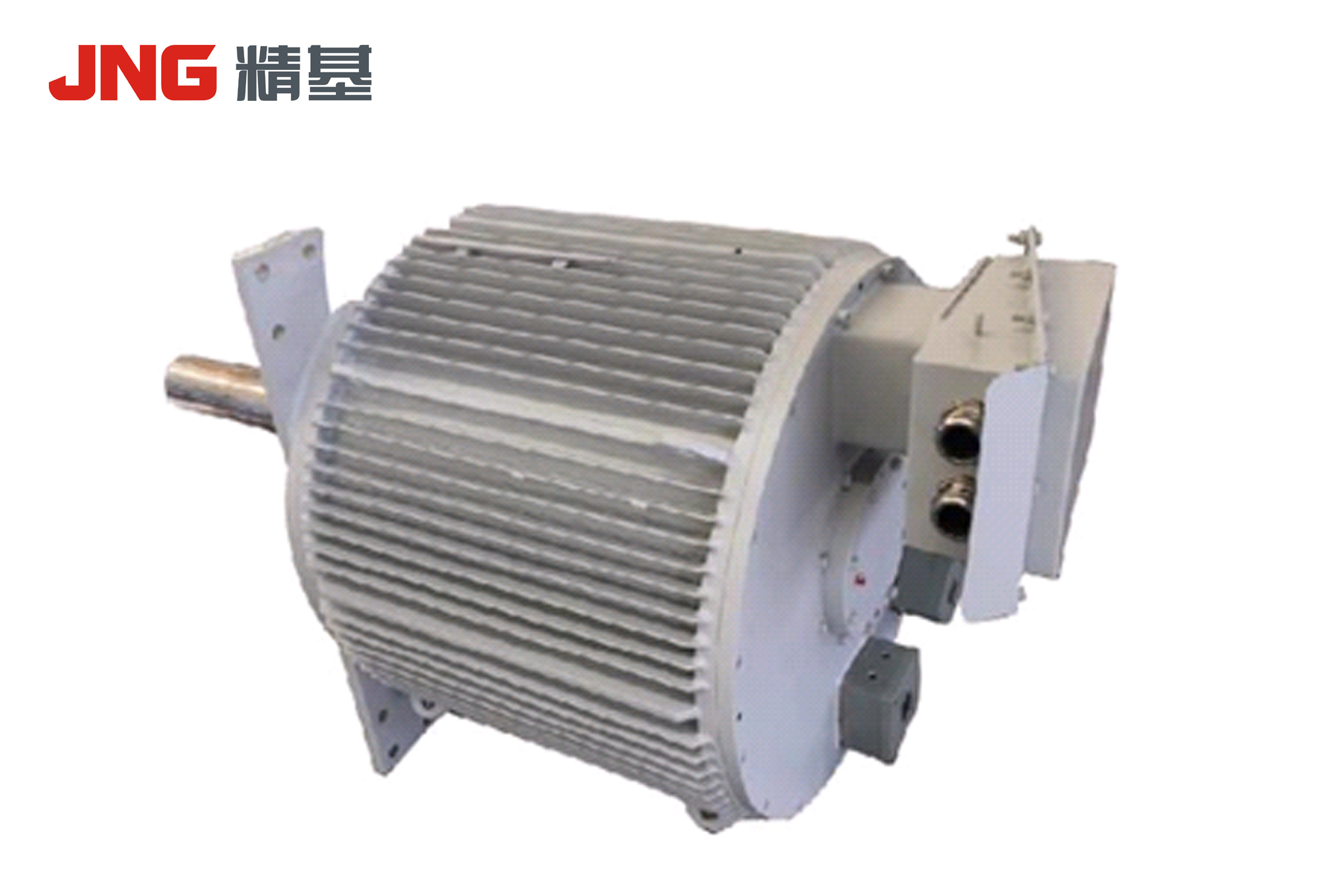 Motor for air-cooled island fan