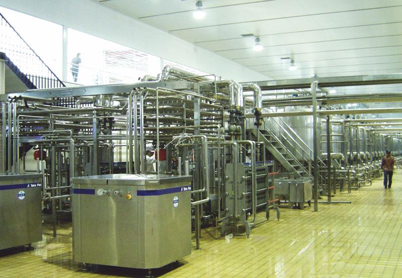 北京卡夫食品有限公司生产车间