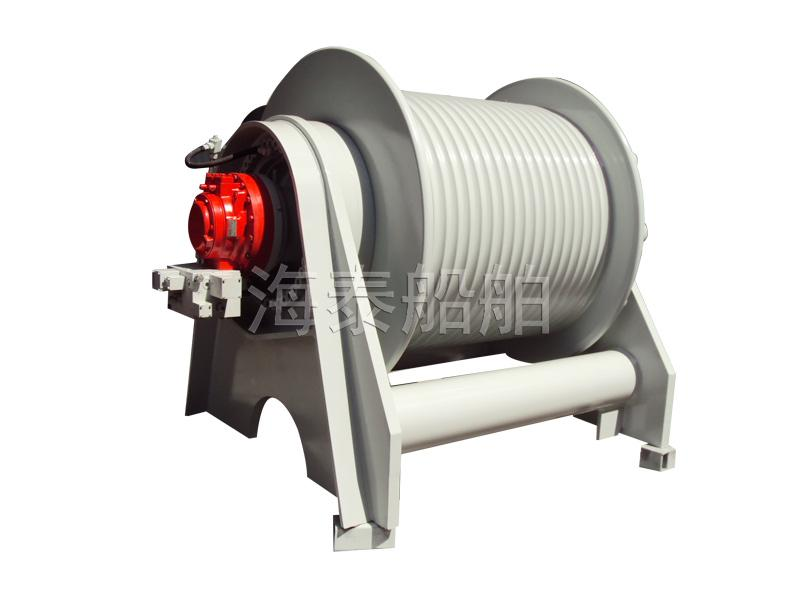 Rake head winch