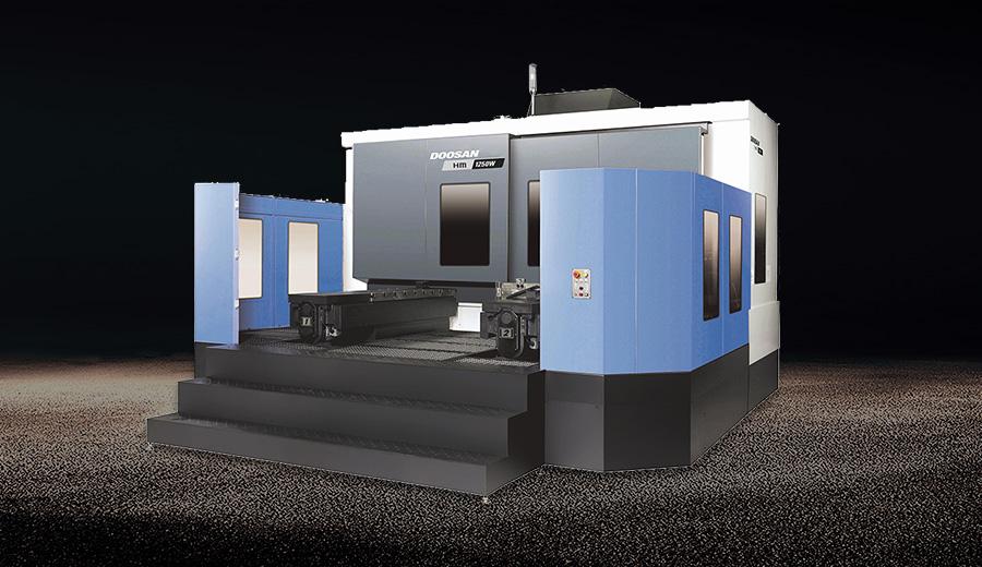 DOSSOON HM1250W臥式加工中心
