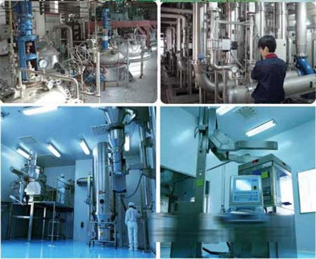 图一:大唐制药厂阀门应用 食品医药行业项目