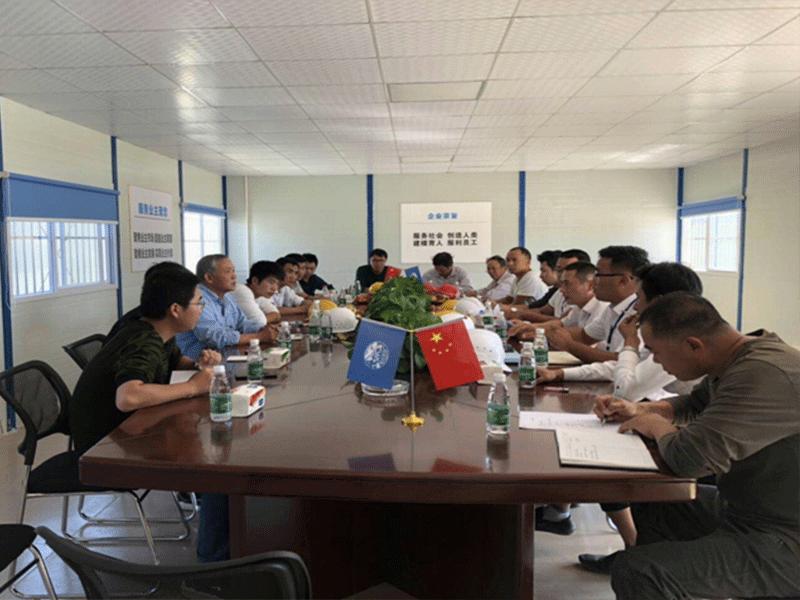 一局集团江西省全南县双龙谷教育小镇项目地基与基础分项工程基槽验收顺利通过