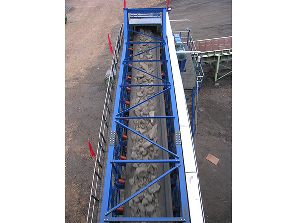 霍林河露天煤業輸巖系統破碎站排料帶式輸送機1