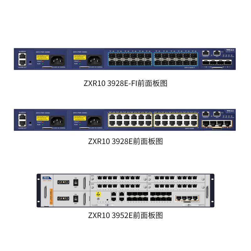 ZXR10 3900E系列三层智能以太网交换机