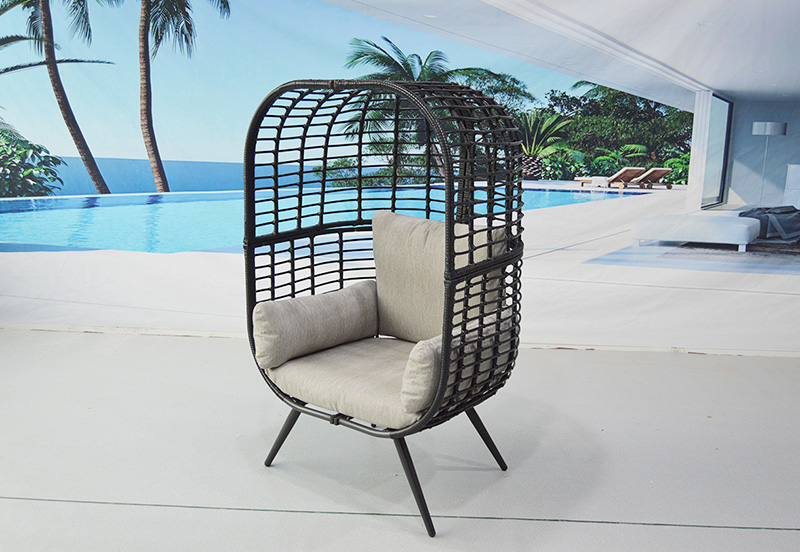 BEDE NEST CHAIR Lt Gry