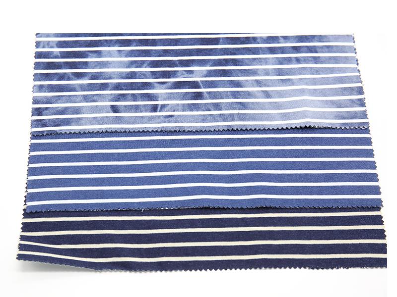 WFSC41833T-1 靛蓝彩条双面健康布