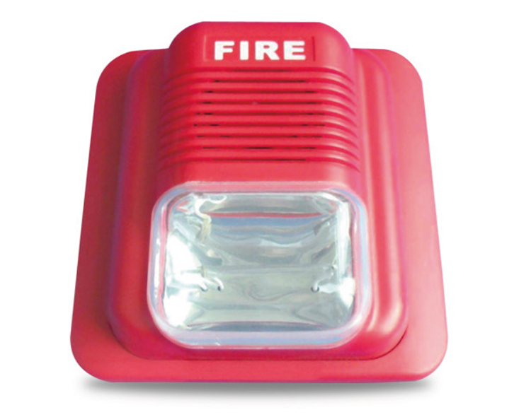 JD-SR21 wired fire alarm sound and light alarm