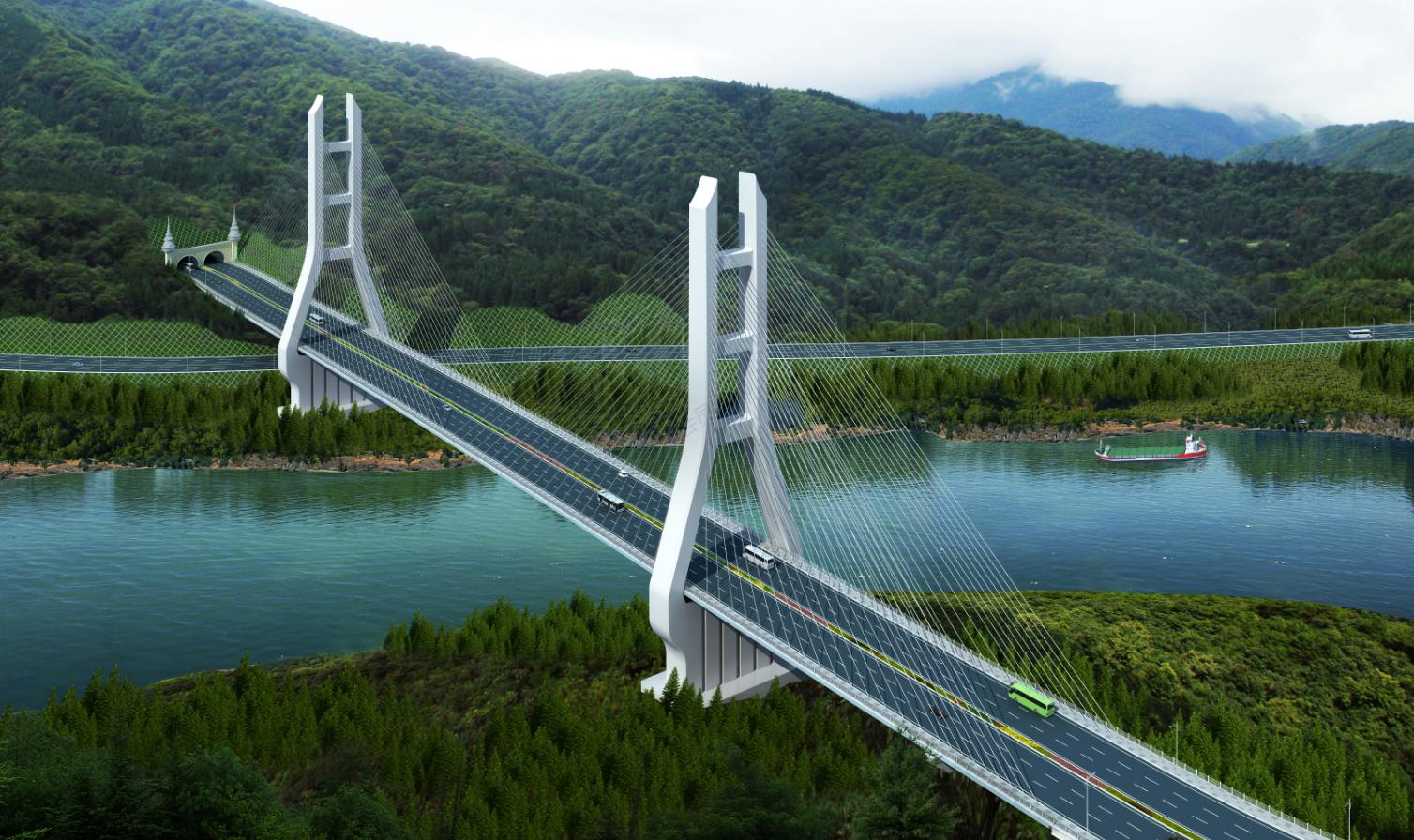景洪市神秘谷瀾滄江大橋建設項目