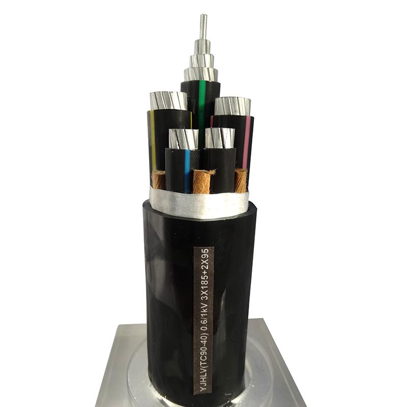 鋁合金電纜YJHLV(TC90-40) 0.6/1kV 3X185+2X95