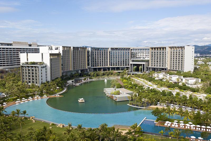 2018年魯班獎工程——龍信建設集團承建的三亞晉合艾迪遜酒店