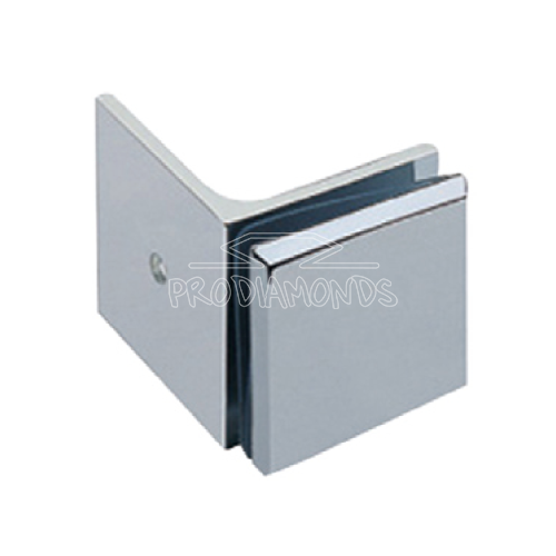 Wall to Glass 90 degree Shower door clip