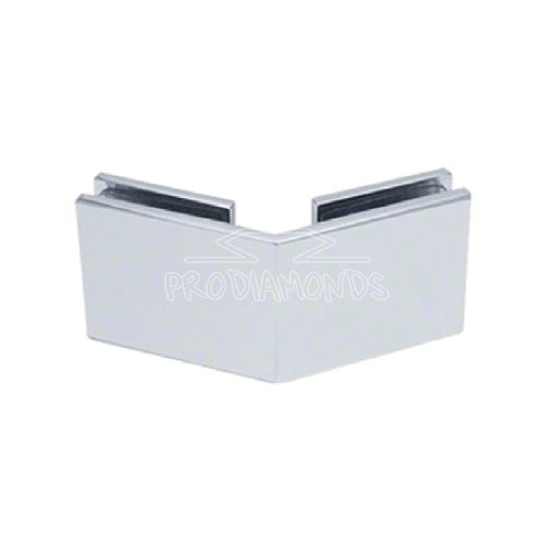 HEAVY-DUTY SQUARE GLASS TO GLASS 135 DEGREE CLAMP