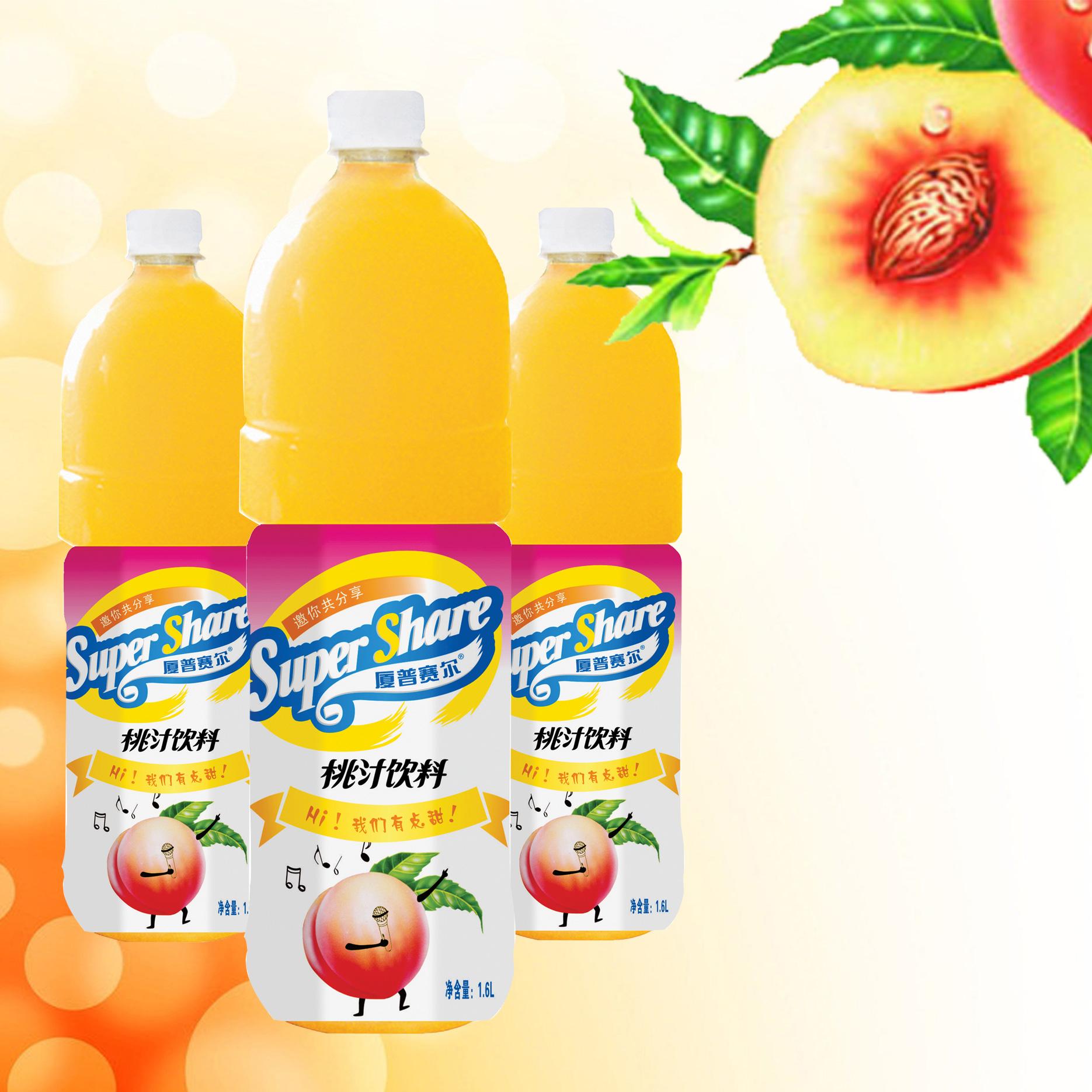 1.6L桃汁飲料
