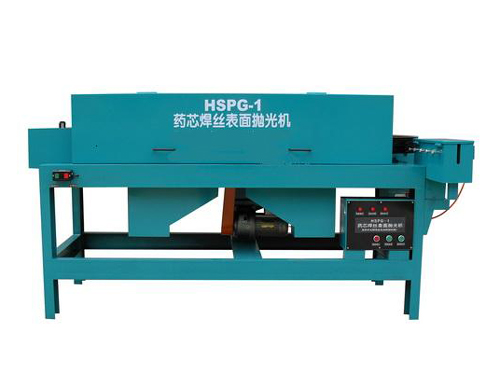 Flux cored wire surface polishing machine