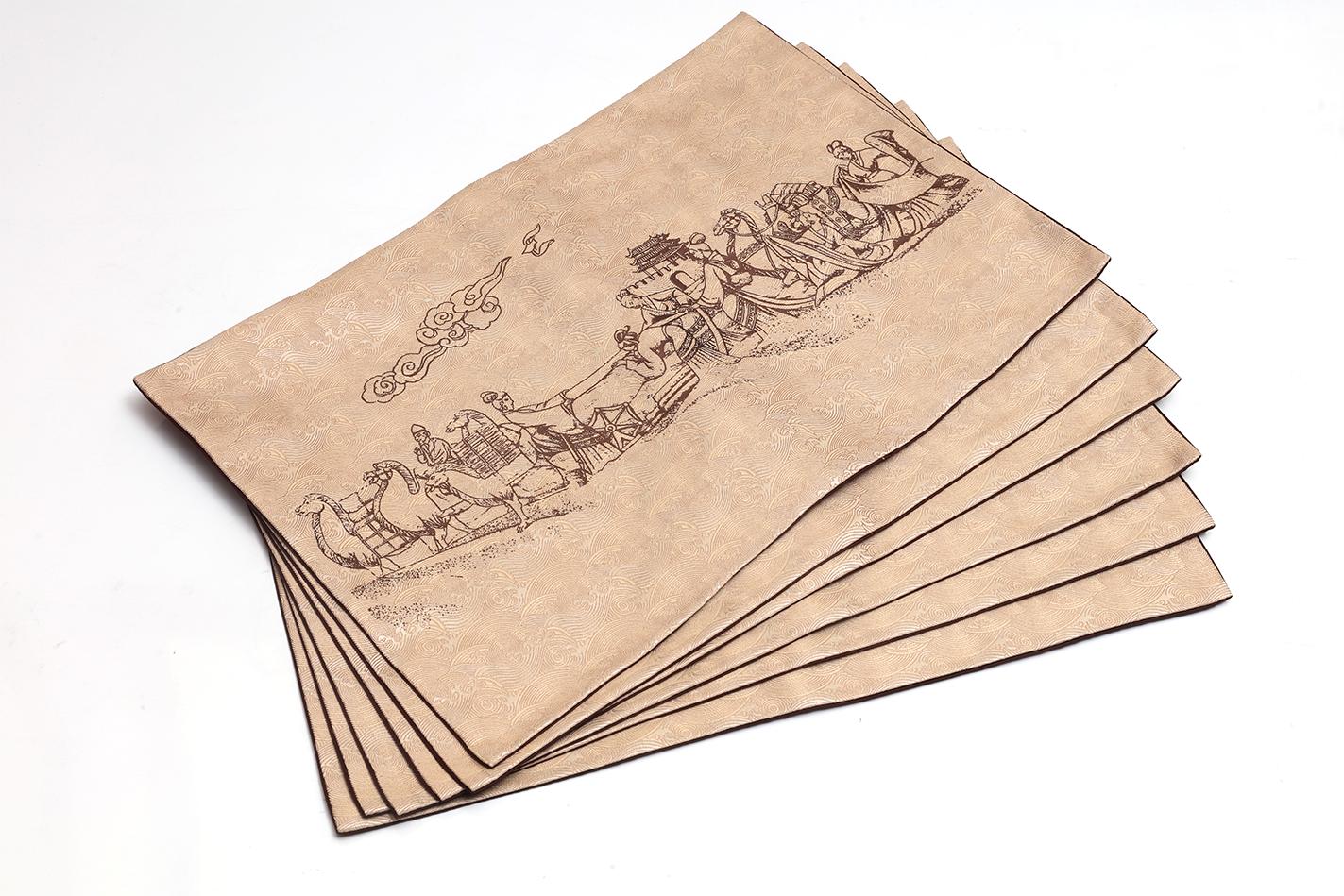 絲綢桌旗定制