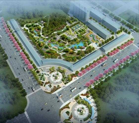 陸屋臨港產業園景觀環境及綠化設計