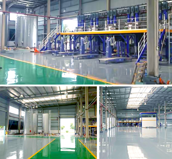 Sower to undertake hubei special anticorrosive paint production equipment smooth completion