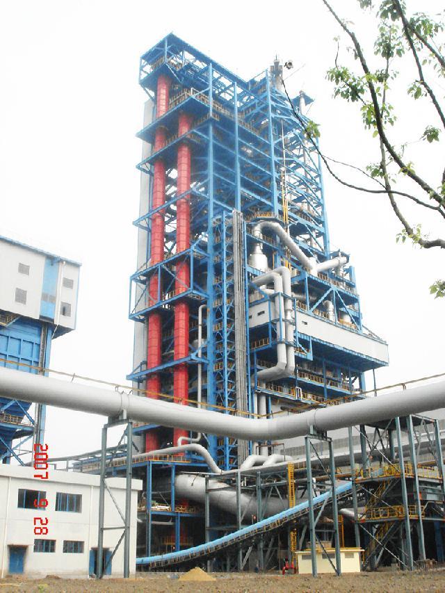 浦鋼搬遷COREX項目垂直皮帶機提升高度110m
