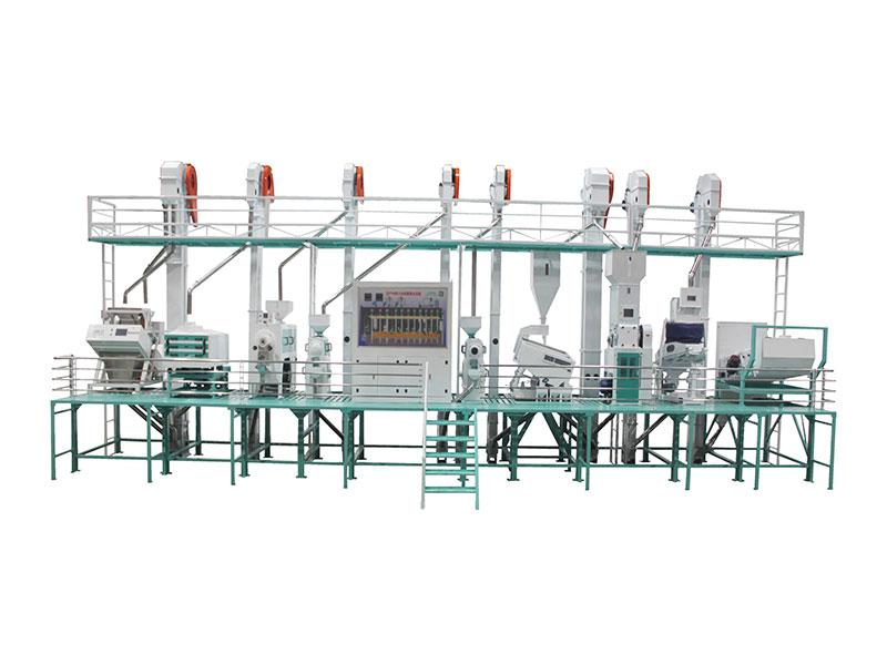 CTNM40型自動化成套碾米設備