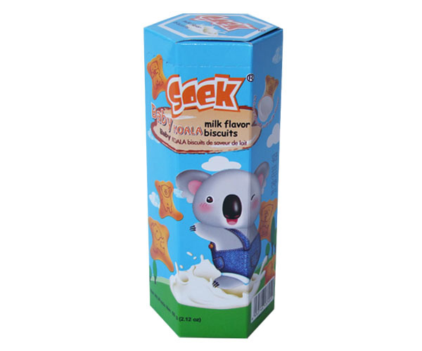 Baby Koala Cream Filled Biscuits Milk Filling  60gX40boxes 41X29X38cm