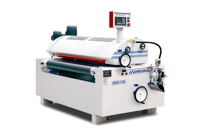 Full precision single roll coating machine