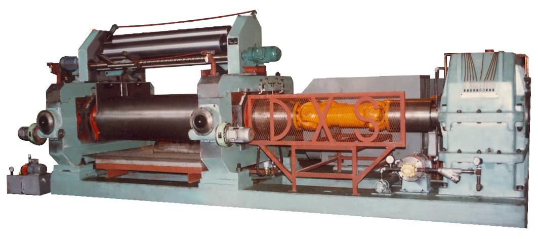 橡膠壓片機XKY-710        (1996.04)