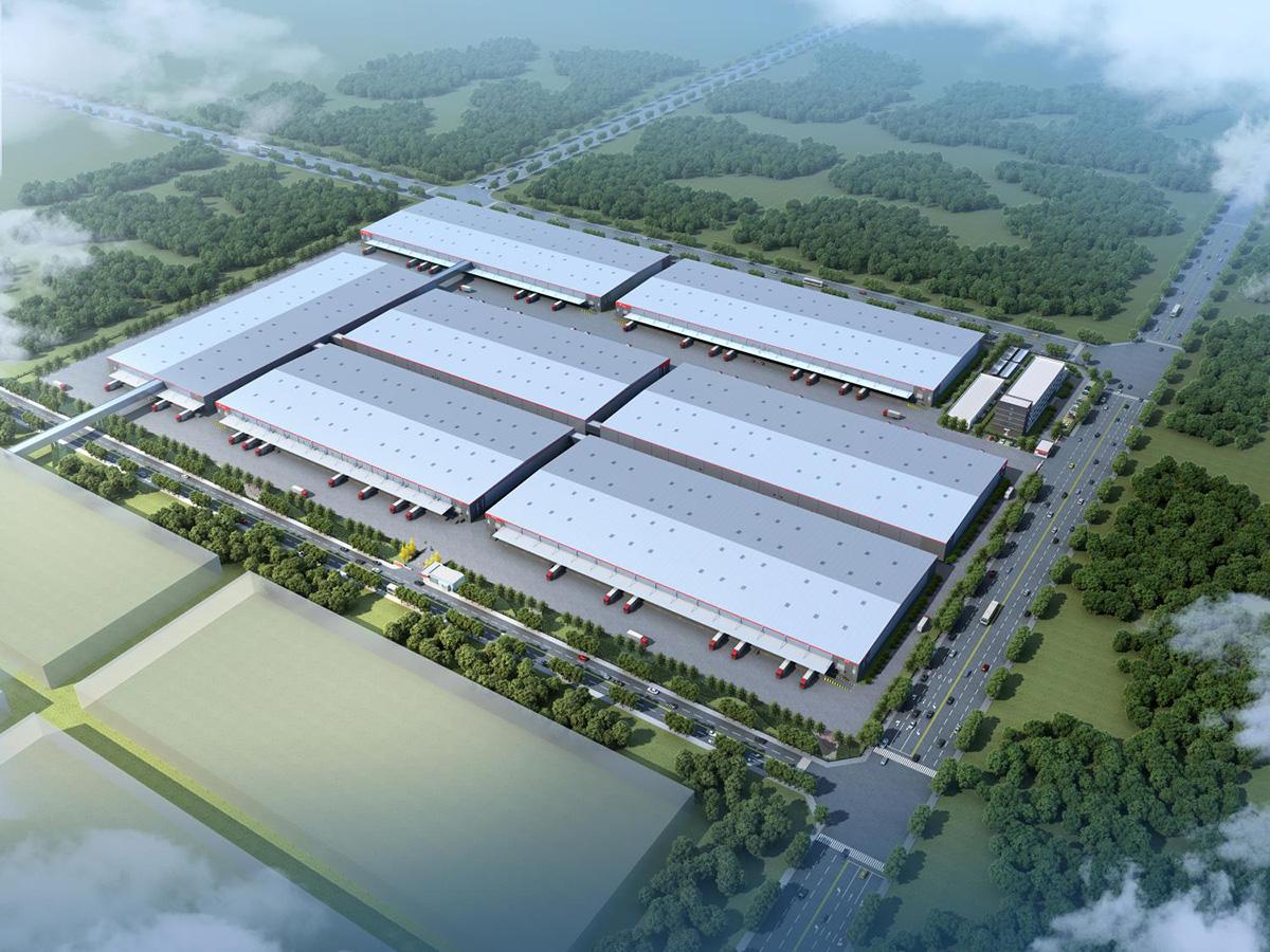 京東西南智能運營結算中心建設項目二期項目施工總承包工程(在建)