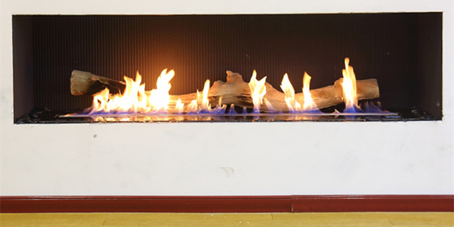 New Intelligent bio fireplace with flame adjustable