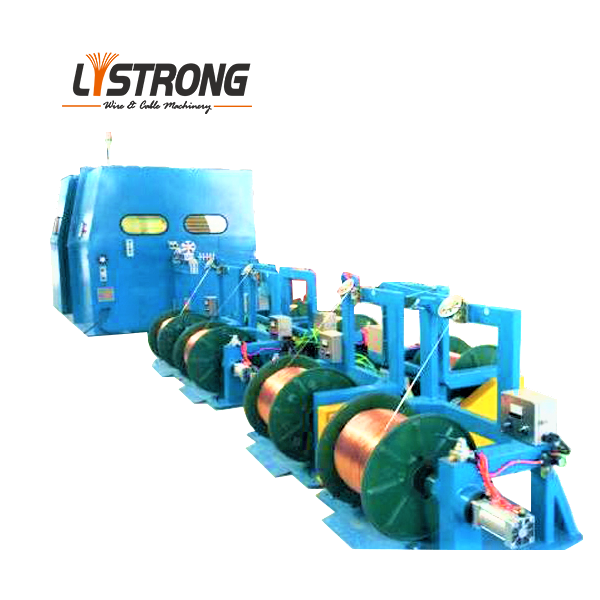 Wire rod twisting machine