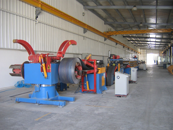 Barrier plate production line (UAE)