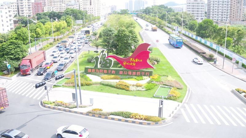 龙澜大道两侧(百丽名苑至观光路段)绿化提升工程