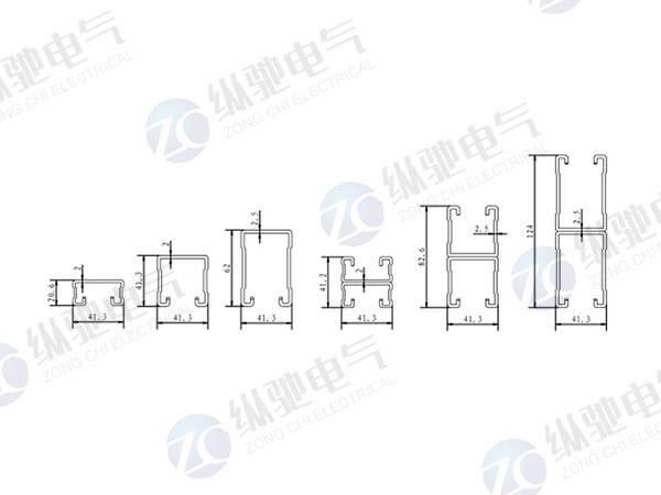 槽鋼軸向受壓(容許)承載力