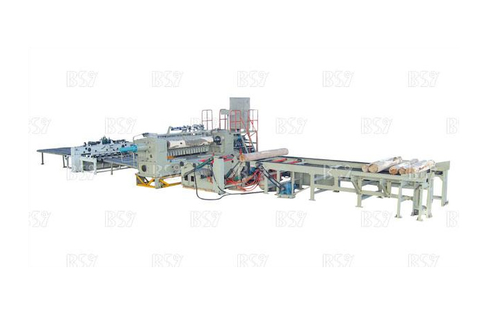CNC hydraulic single spindle rotary cutting production line