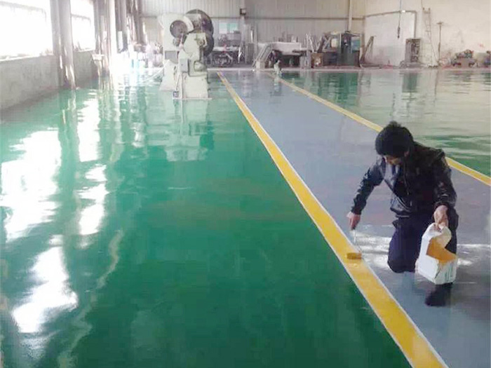 環氧防靜電自流平面涂施工