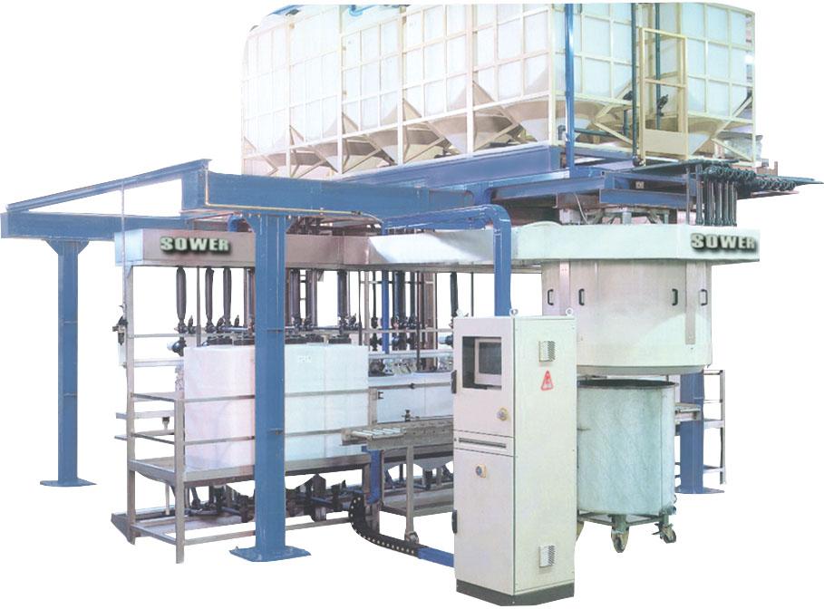 Liquid automatic feeding cosmetic system
