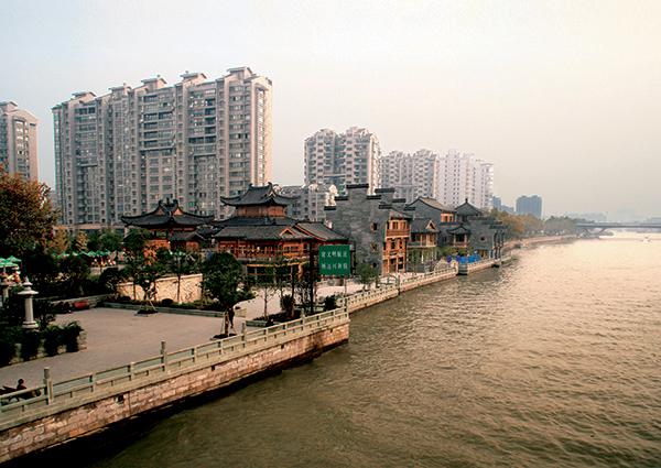 運河杭州段護岸整治工程