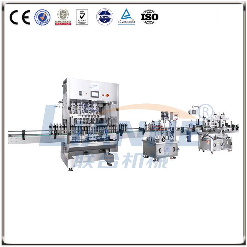 全自动直线式灌装机(膏、液通用型)