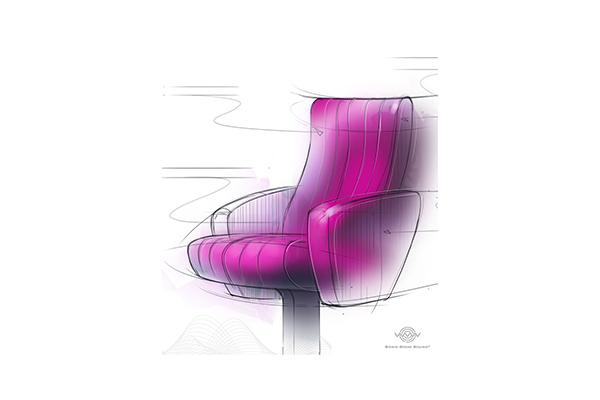 銀賓:音震座椅型