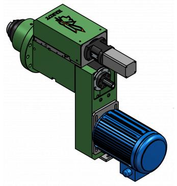 SFSD09 水车钻孔/攻牙动力头
