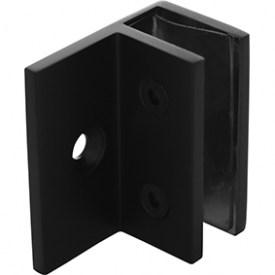 WALL BRACKET  MATT BLACK FOR GLASS SHOWER SCREEN