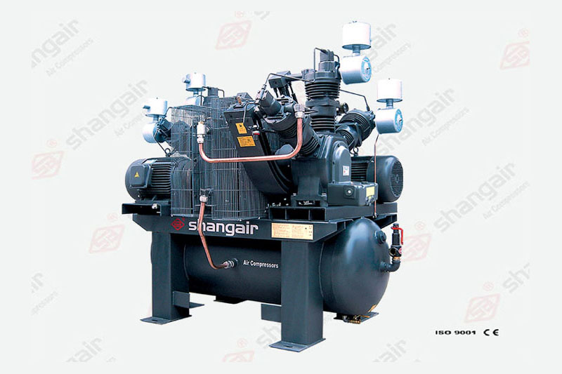 10WW Series Oilfree Air Compressor (Double-Engine Set)