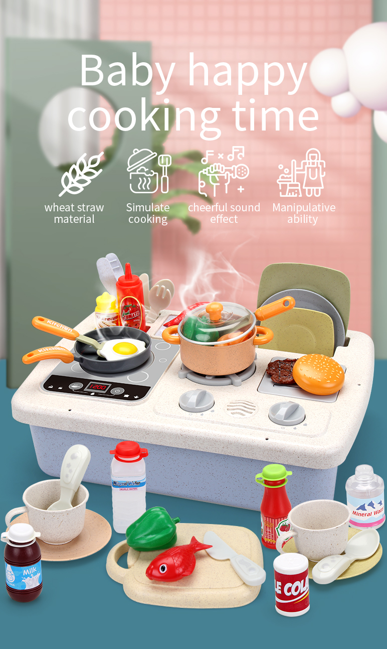 Endless fun of Kitchen Cooking Set