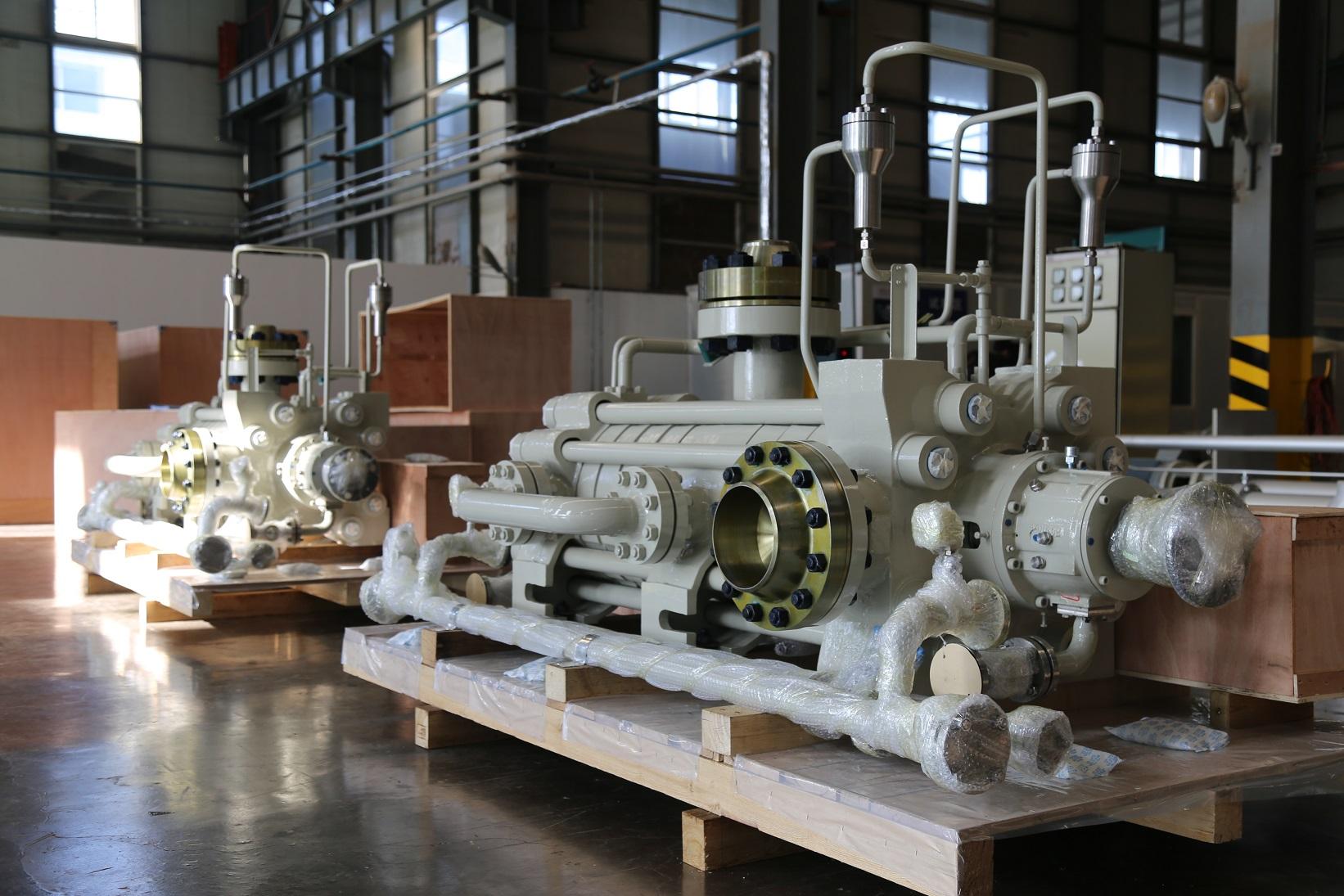SBD節段式多級離心泵(API610/BB4型式)
