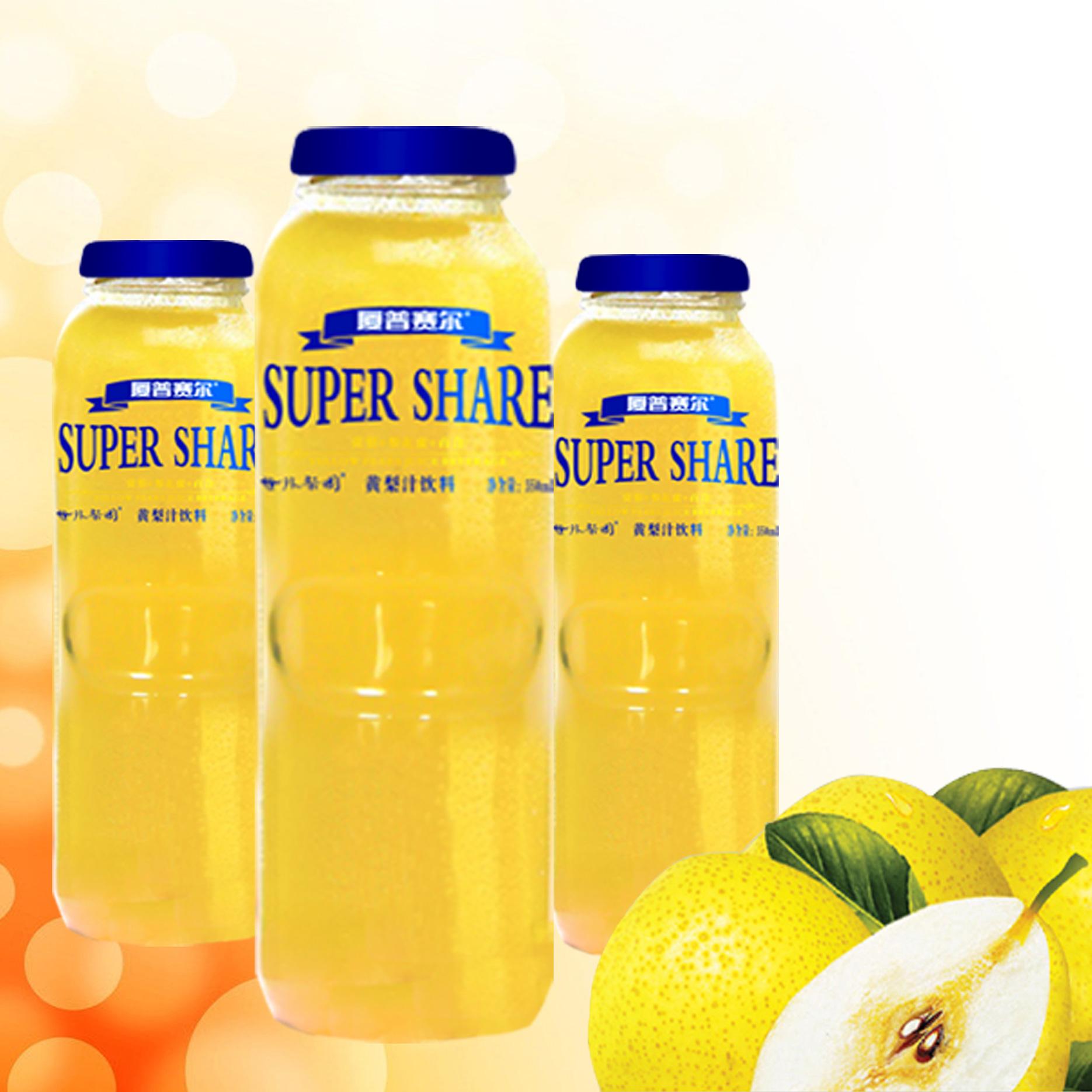 350mL黃梨汁飲料