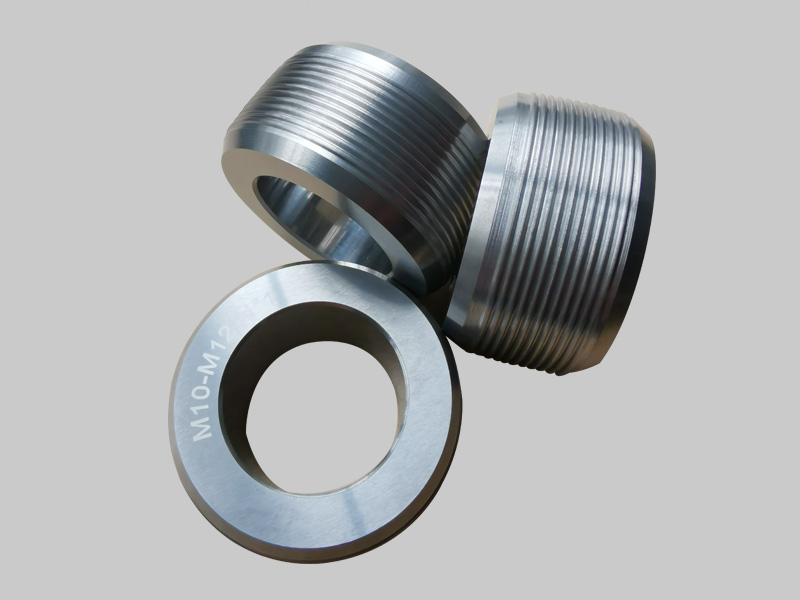 Tungsten carbide nonstandard products  with screw